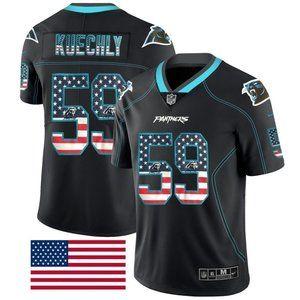 Carolina Panthers Luke Kuechly Jersey (4)